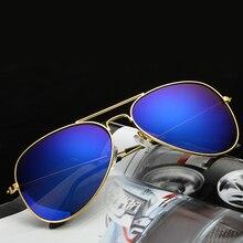 Hot Classic Fashion Sunglasses Women Men Colorful Reflective Coating Lens Eyewear Accessories Sun Glasses Oculos De Sol