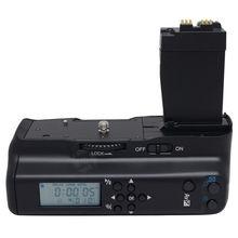 Meike 550dl ЖК-таймер Вертикальная Батарейная ручка держатель для упаковки вручную для камеры canon 550D 600D 650D 700D