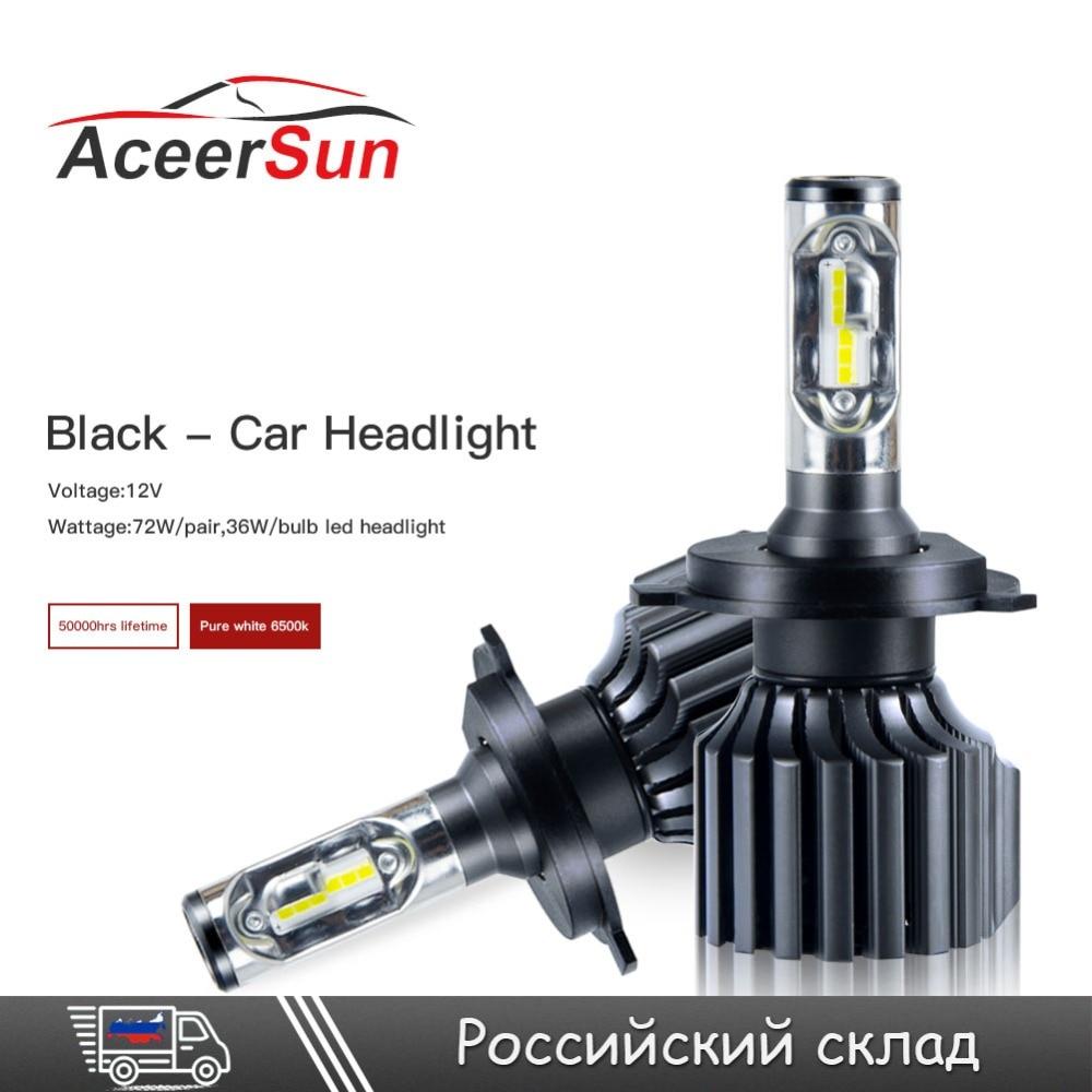 <font><b>LED</b></font> H4 H7 H11/H8/H9 H13 H15 All in one Car <font><b>Led</b></font> Headlights Hi/Lo Beam 9005 9006 H1 H3 D1 12V 72W 12000LM Fog Light Lamps Bulbs