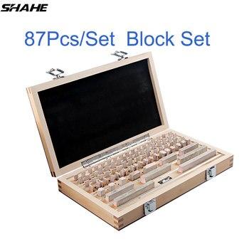 Shahe 87 шт./компл. 1 класс 0 класс контрольный блок измерительный штангенциркуль измерительные приборы
