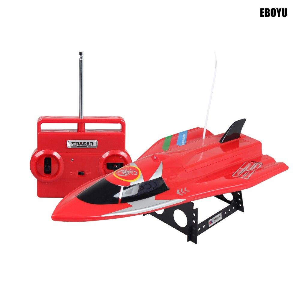 Créer des jouets ShenQiWei CT3362 RC Flyng poisson 4CH 27 Mhz/40 Mhz RC bateau de course à grande vitesse bateau de course 20 km/h RC hors-bord RTR