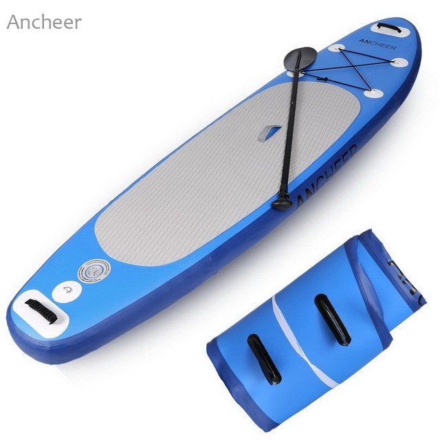 ANCHEER SUP Tower Stand Up Inflatable Paddle Board Bundle Adventurer Water  Skiing Surfing Surfboard 528eba6ed
