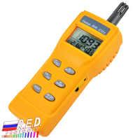 Qualità Dell'aria interna 9999ppm Digitale Sensore di Umidità di Temperatura NDIR IAQ Anidride carbonica CO2 WB DP Monitor Tester