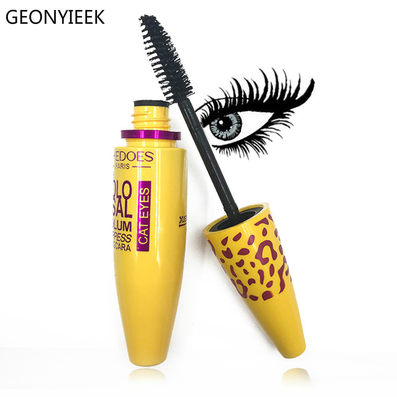 Makeup Cosmetic Length Extension Long Curling Eyelash Black Mascara Eyelash Lengthener Makeup Maquiagem Rimel Mascara-in Mascara from Beauty & Health on AliExpress - 11.11_Double 11_Singles' Day