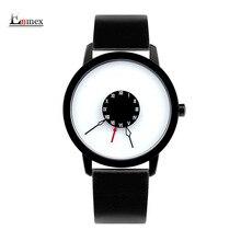 2016 hommes cadeau Enmex brève conception la Tête en bas creative main unique design pour jeunes de mode unique quartz montres