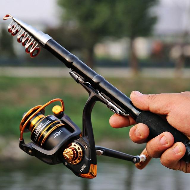 super short hard telescopic spinning fishing rod 1 2.3m boat stick for seafishing bass carp pole portable travel rod for holiday