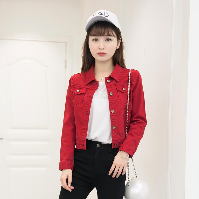 Online Get Cheap Red Denim Jacket -Aliexpress.com | Alibaba Group