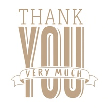 Big Thank You Very Much Phrase Metal Hot Foil Plate for DIY Scrapbooking Letterpress Embossing Paper Cards Making Crafts New 201