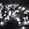 Algodão Bola Fada Luz LED String Luzes De Natal Decoração Do Partido de Feriado, 5 M AC110V/220 V Frete Grátis