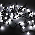 Cotton Ball LED String Light Fairy Christmas Lights Decoration Holiday Party ,5M AC110V/220V Free Shipping