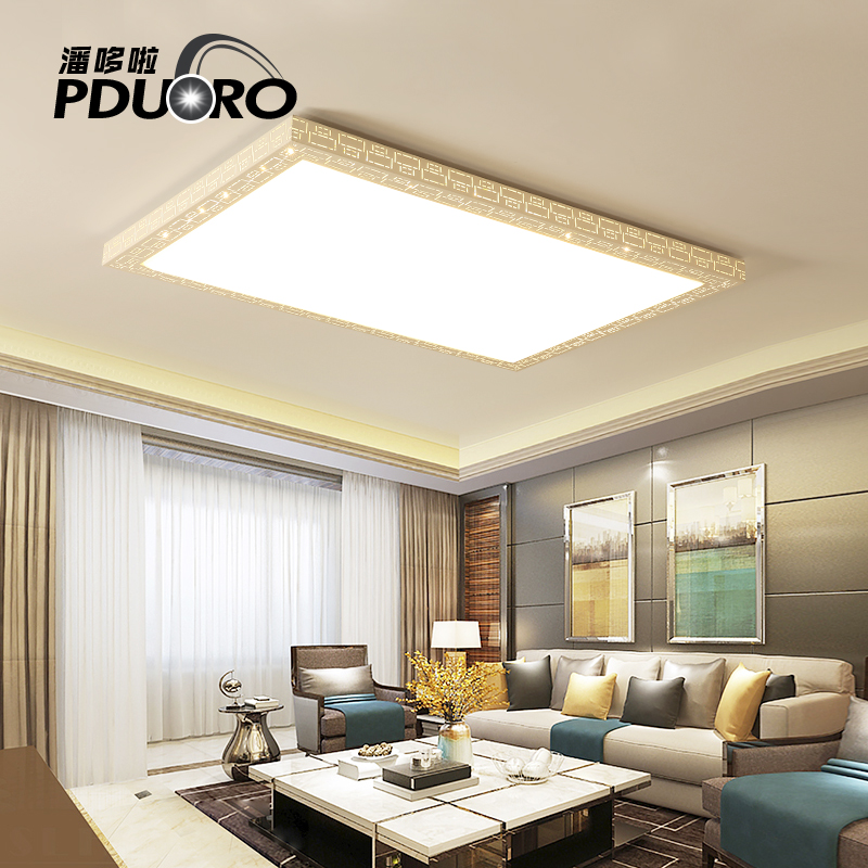 New Acrylic Modern ceiling lights for living room bedroom White Simple Plafon led ceiling lamp home lighting fixtures AC85-260V black and white round lamp modern led light remote control dimmer ceiling lighting home fixtures