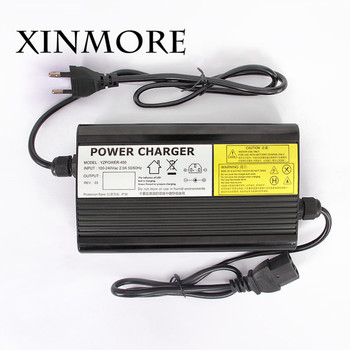 XINMORE  50.4V 6A 5.5A 5A 4A Lithium Battery Charger 12 Series For 44.4V E-bike Battery Tool Power Supply for Electric bicycle
