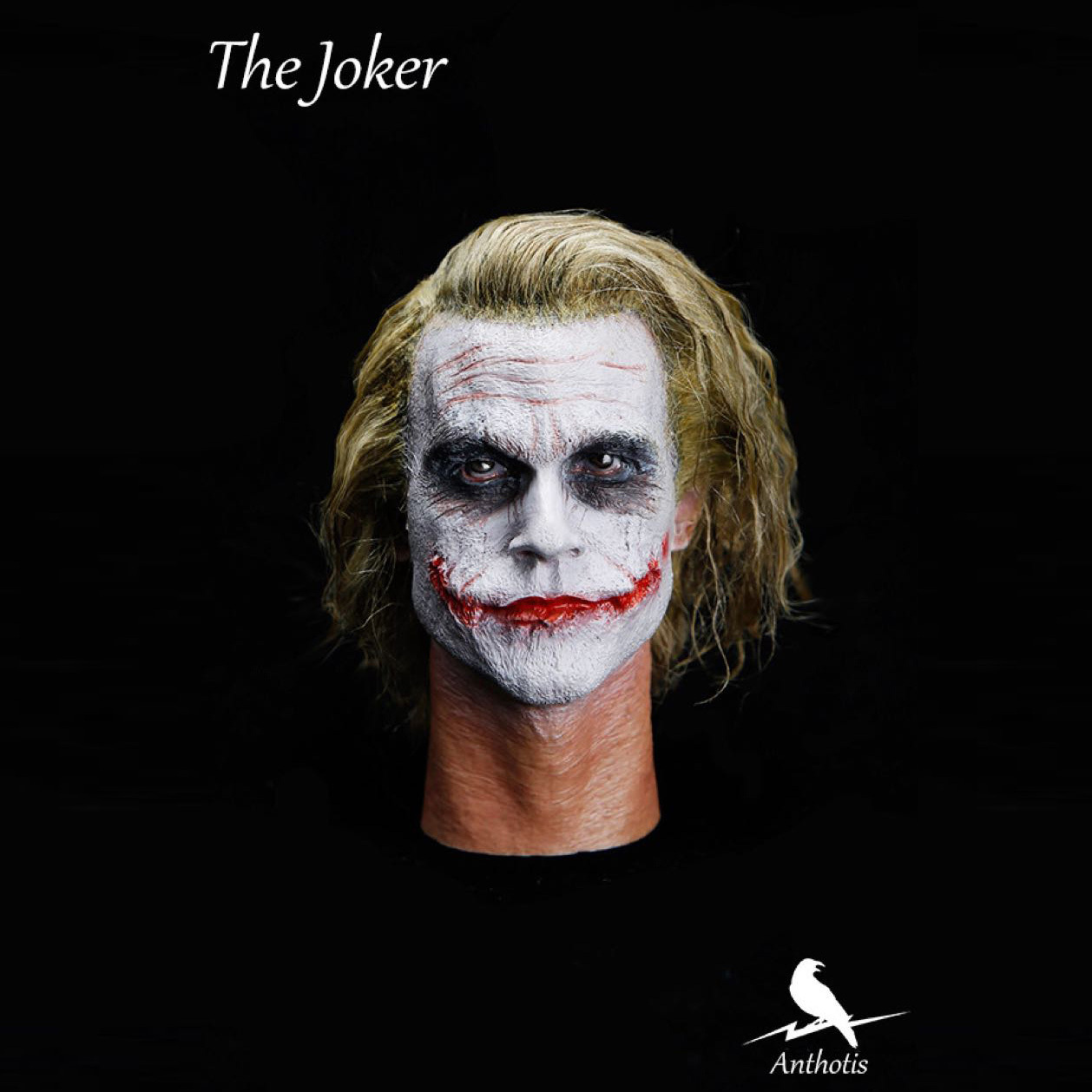 New MJ12 1/6 Scale Master Edition Clown Head Carving Joker Heath Ledger Head Shape for 12 Action Figure Dolls Toys mnotht 1 6 male solider new clown head carving mj12 top edition heath ledger head sculpt for 12in action figures l30