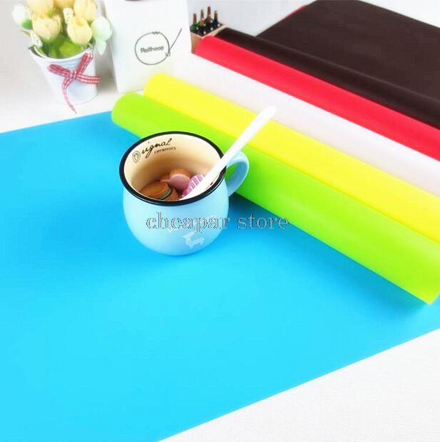 Hot Sale 40x30cm Silicone Mats Baking Liner Best Silicone Oven Mat Heat Insulation Pad Bakeware Kid