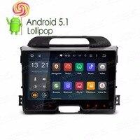 9 ОС Android 5.1 специальный автомобиль GPS Радио мультимедийный плеер для Kia Sportage 2010 2016 (серии 3) с полным RCA Выход Поддержка