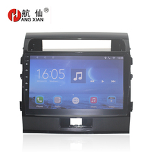 Bway 10.1 2 din Car radio for Toyota Land Cruiser 2007-2012 Quadcore Android 7.0 car dvd player gps navi with 1 G RAM,16G ROM
