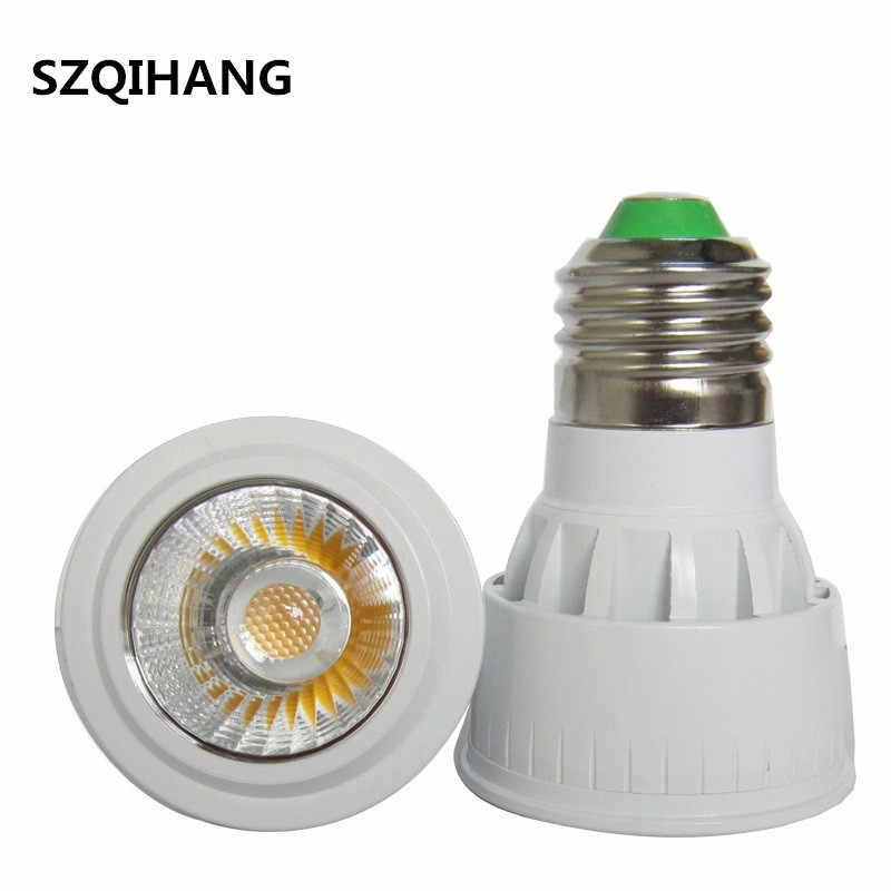 Сверхъяркий Регулируемый AC 110 V 220 V GU10 5 Вт 7 Вт 10 Вт светодиодный COB прожектор лампа лампы MR16 GU5.3 GU10 E14 E26 E27 B22 светодиодный потолочный светильник