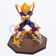 Anime batalha estado final flash pvc figura de ação collectible modelo brinquedo 15cm