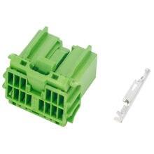 14 контактный зажим водонепроницаемый Зеленый автомобильный