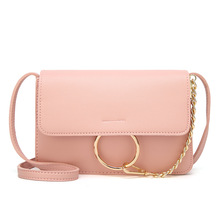 Manufacturer Direct Guangzhou 2018 New Style Ms One-Shoulder Crossbody Bag Mobile Phone Bag Leisure Korean-Style Fashion Bags & new style one shoulder bag leisure fashion nylon one shoulder women s leisure bag portable waterproof one shoulder bag tourism o