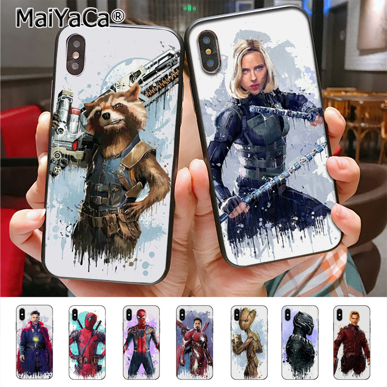 Half-wrapped Case Maiyaca Marvel Doctor Strange Luxury Hybrid Soft Phone Cases For Iphone 8 7 6 6s Plus X 10 5 5s Se 5c 4 4s Coque Shell Cellphones & Telecommunications