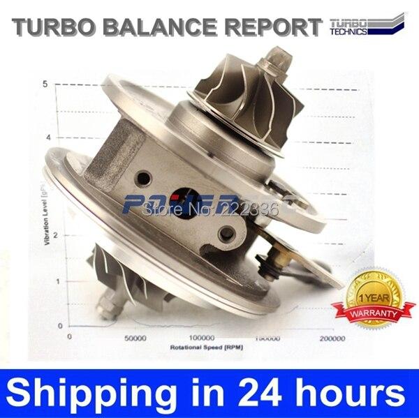 KKK BV43 turbo core 53039700127 turbo core cartridge 282004A480 turbo chra for Hyundai H 1 CRDI