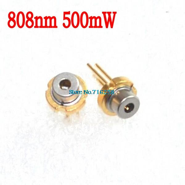 808nm 500 mW 5.6mm TO-18 Infrarouge IR Laser Diode Pas PD