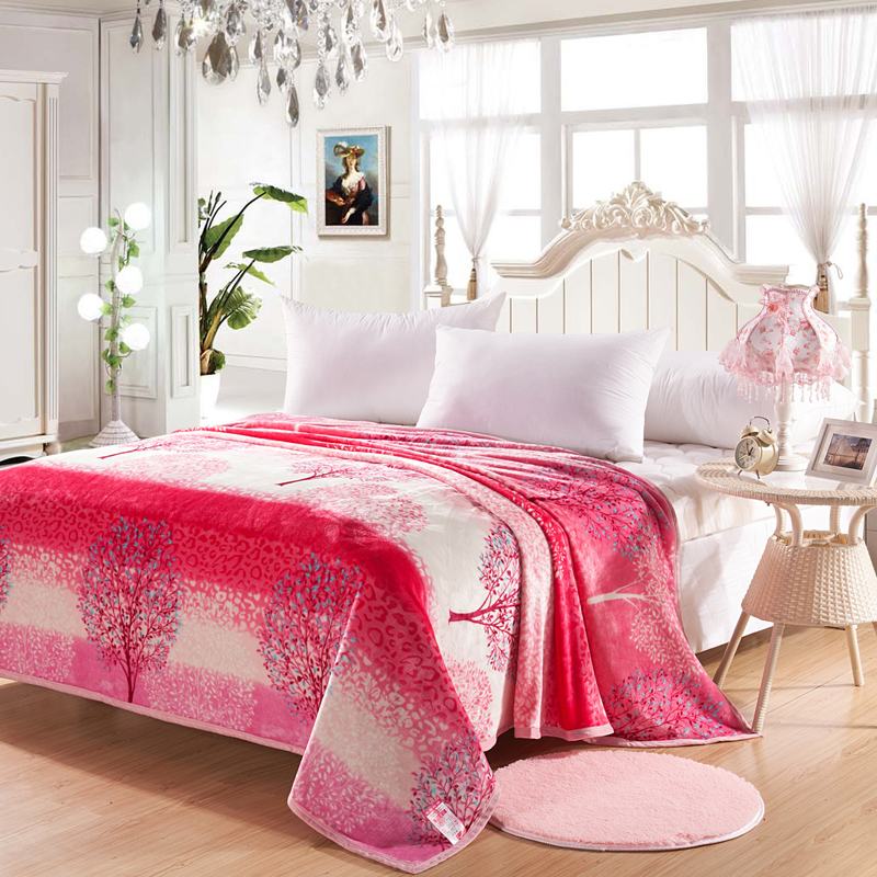 Swell Us 31 0 Hot Sale High Quality Fashion Beautiful Pink Dream Tree Pattern Soft Blanket For Sofa Bed Home Blanket Bedspreads 150X200Cm Size In Throw Gmtry Best Dining Table And Chair Ideas Images Gmtryco