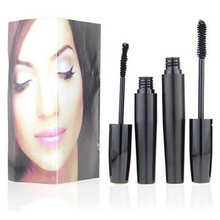 Women's Waterproof 3D Fiber Eyelash Mascara Set Makeup Thick Long Curling Lash
