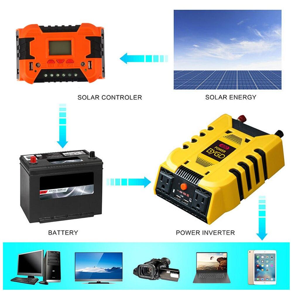 10A 20A Премиум PWM Интеллектуальный адаптер зарядное устройство на солнечной панели РЕГУЛЯТОР прочный контроллер заряда солнечной энергии