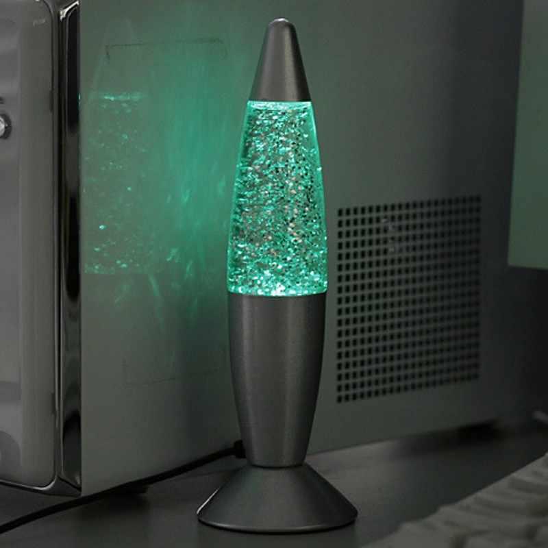 Новинка многоцветный обесцвечивание 3D ракета лава лампа RGB светодиодный свет вечерние настроение ночник День рождения Рождественский подарок Детская лампа