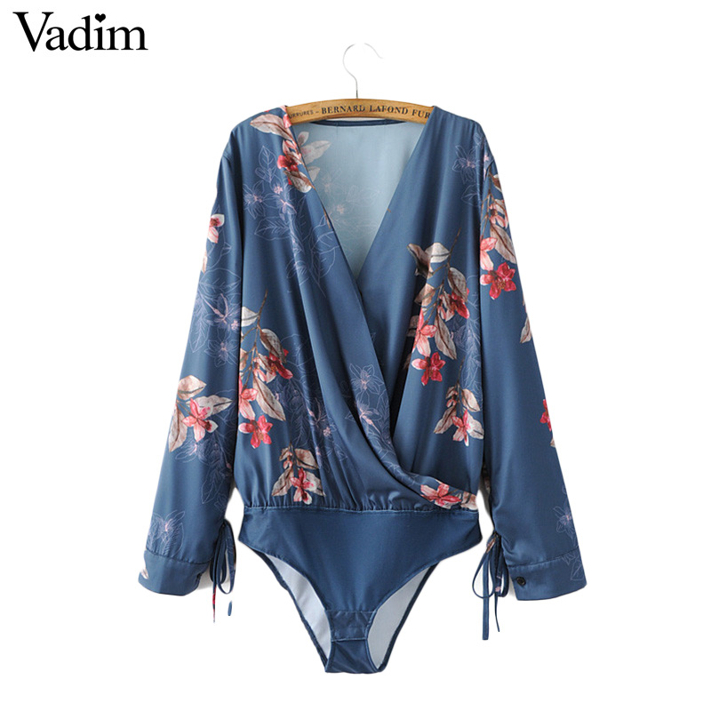 vadim Women sexy shirt long sleeve blouse casual tops