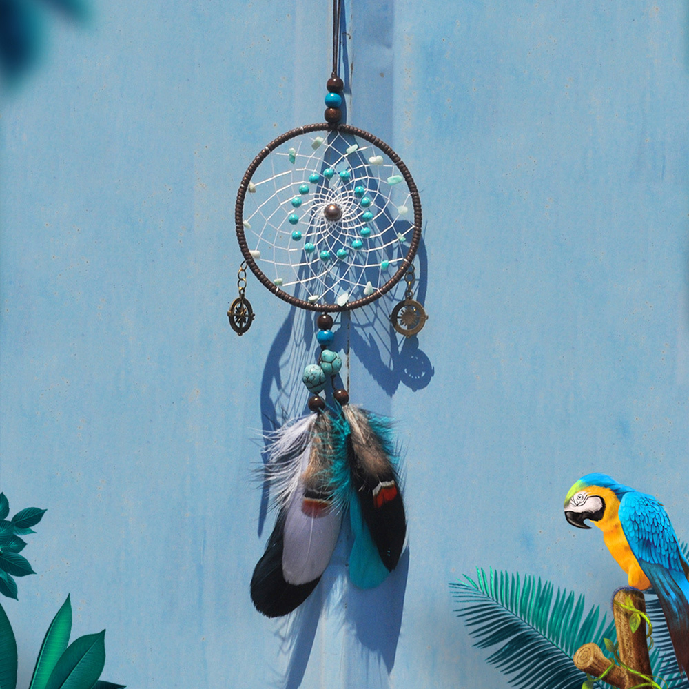 Dream Catcher Car Rearview Mirror Accessories Pendant Car Decor Hanging Ornament