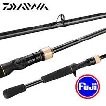 Original DAIWA BASS X 622ULS 662MB 662MLB 642MLS Locken Angelrute Casting Spinning Carbon FUJI Ringe Reel Sitz Angeln angelgerät(China)