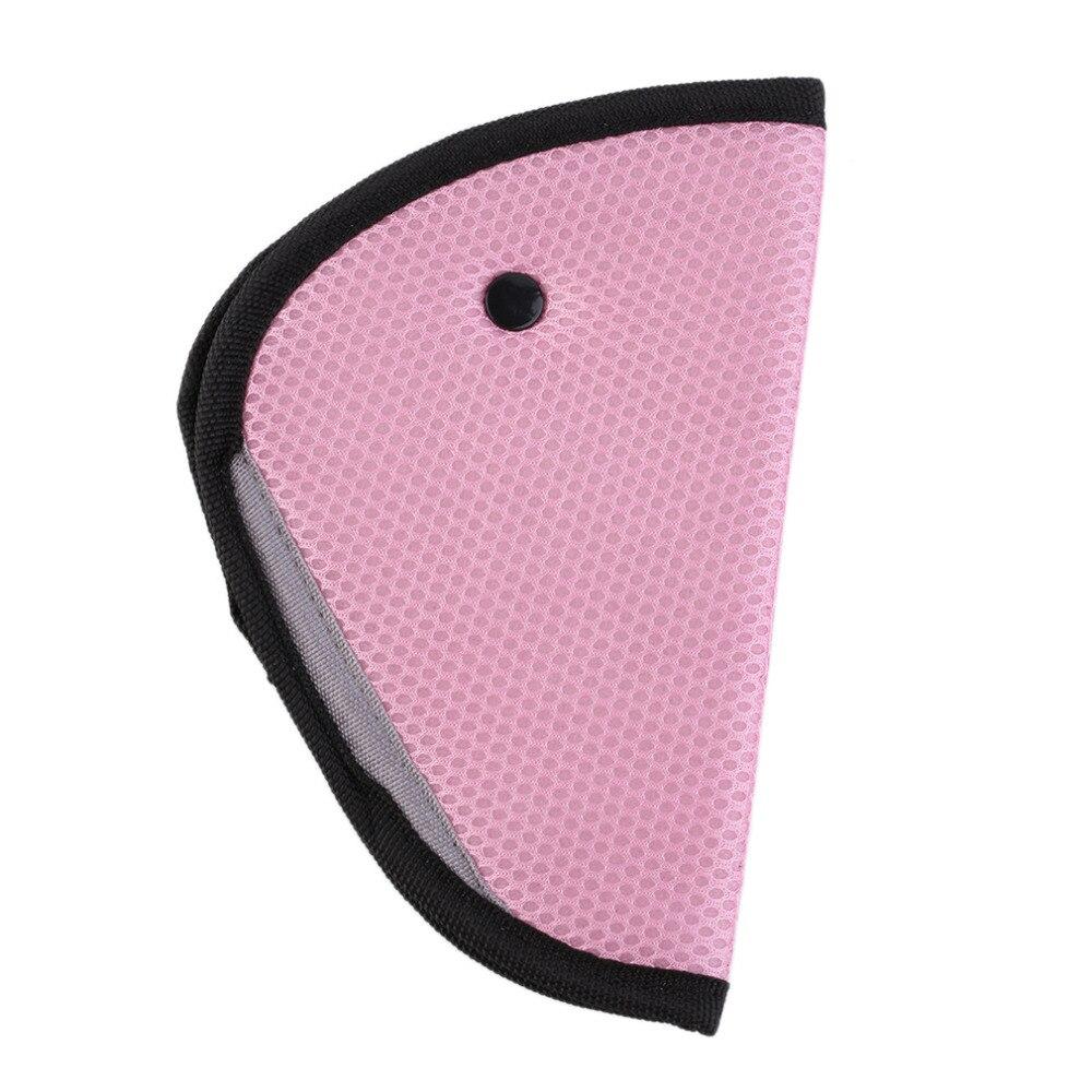 Triangle Child Car Safety Belt Holder Child Resistant Safety Belt Protector Shave Baby Adjuster Car Seat Belt Extender for kids
