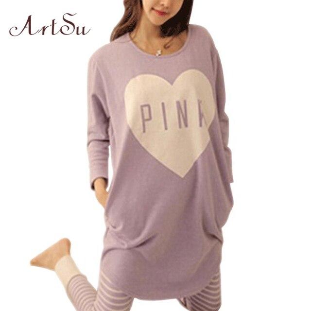 2015 Зима Женщины Pajama Наборы Осень Пижамы Пижамы ночь девушки Домашняя Одежда Для Женщин Nightgown SL2193