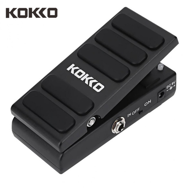 KOKKO KW-1 Multi Effects Guitar Pedal Wah/Vol Guitar Pedal Wah Volume Combination Footswitch Spice Switch Guitar AccessoriesKOKKO KW-1 Multi Effects Guitar Pedal Wah/Vol Guitar Pedal Wah Volume Combination Footswitch Spice Switch Guitar Accessories