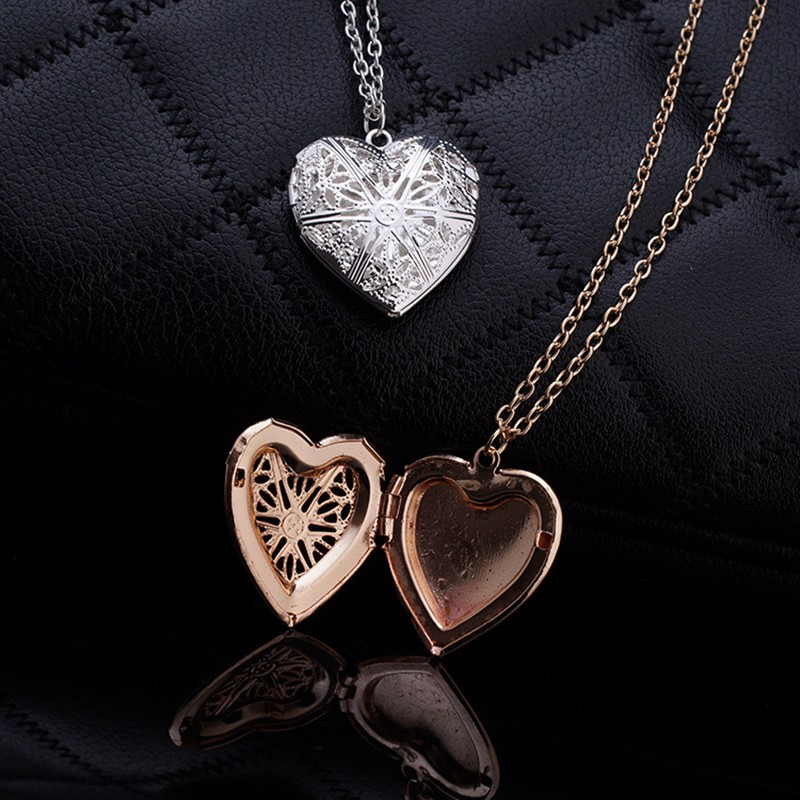N830 Hollow Heart Pendant Necklaces Fashion Jewelry LOVE Collares Geometric Charm Necklace Bijoux NEW Arrival 18 5