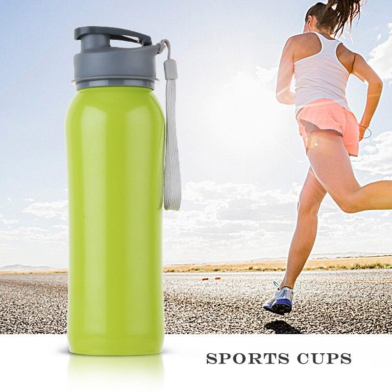 EasyZreal 750mlVysokokapacitní sportovní venkovní láhve na vodu Pěší turistika z nerezové oceli Kempink Nápojové šejkry Termosky Vakuové dýmky Dárky