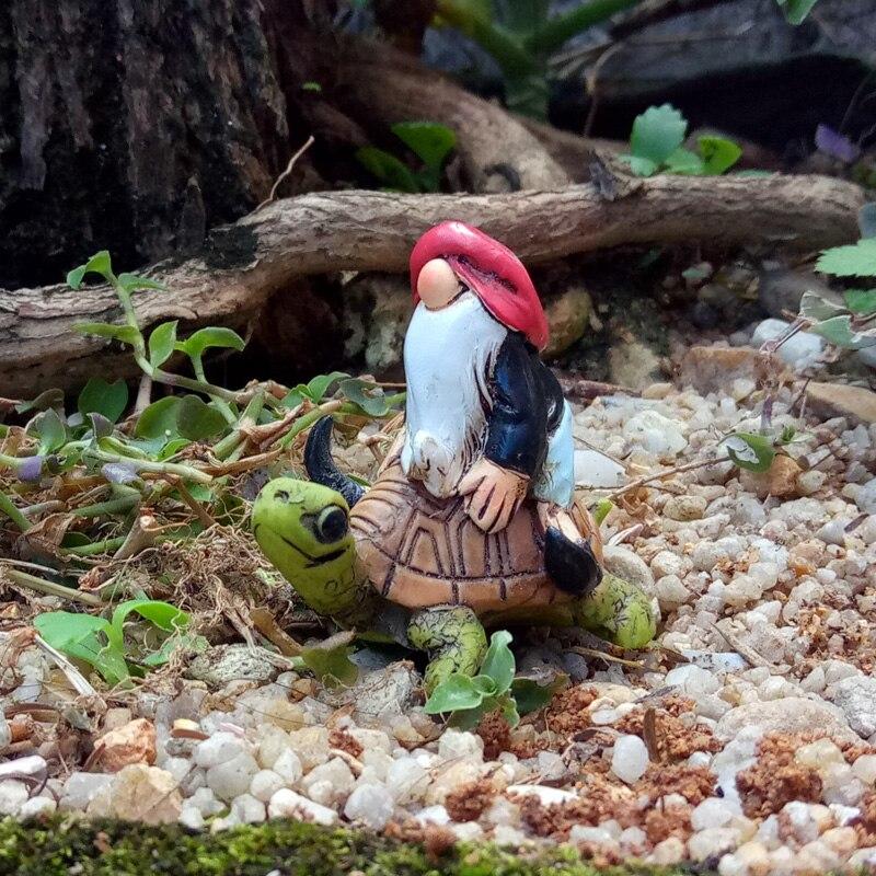 European Style Creative Elf Furnishing Articles Dwarves Figurines Home  Garden Decoration Courtyard Landscape Resin Crafts(