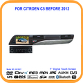 Car Stereo Radio Vhs Dvd GPS 7 ''Pantalla Táctil Navigator Bluetooth RDS control de la rueda del Buey Para Citroen C5 Antes 2012