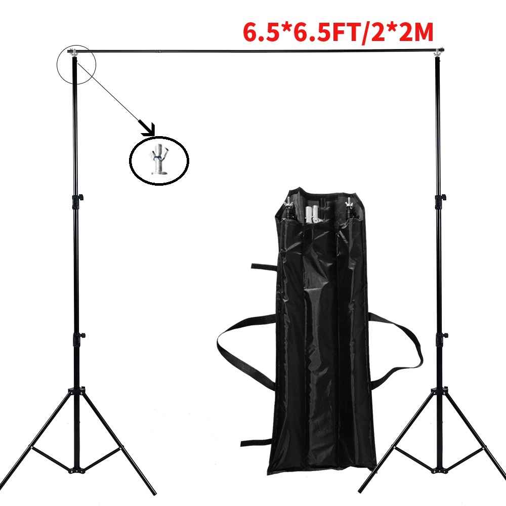Bottom Stand Video Support Studio Photo Accessories Muslin Feet Backgrounds Adjustable Tripod Frame new arrival background fundo plant flowers fence 7 feet length with 5 feet width backgrounds lk 2802