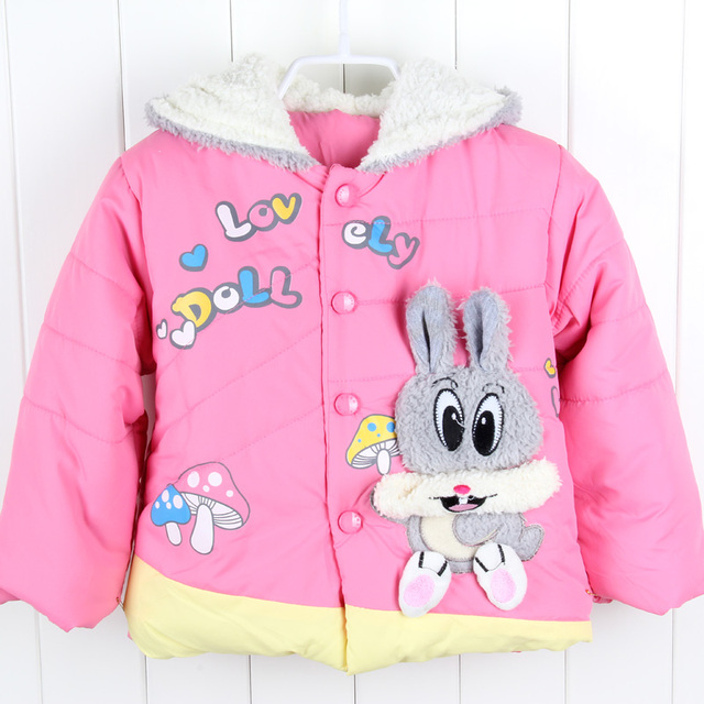 b94d800aa Children Outerwear Winter Jackets For Girls Clothes Hooded Coat Brand Kids  Jacket Boys Baby Snowsuit Toddler