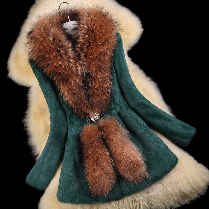 Autumn-Ladies-Natural-Rabbit-Fur-Coat-Jacket-Raccoon-Fur-Collar-Winter-Women-Fur-Trench-Outerwear-Coats (1)