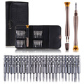 25 in 1 Precision Torx Screwdriver Wallet Repair Tool Set Outdoor Portable Laptop Cellphone Glasses Electronics Device Repair