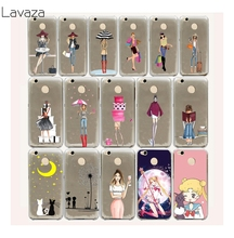Lavaza 9FF Fashionable Dress Shopping Girl Hard Case for Xiaomi Redmi 4A Note 4X 4 3 3S Pro prime Mi5 Mi5s Mi6 Mi 5 5s 6(China)