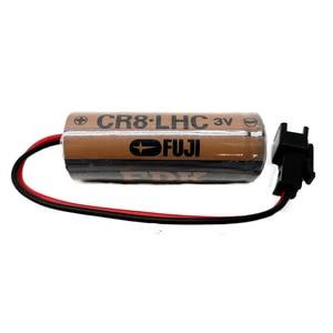 Оригинальный новый аккумулятор CR8. LHC 3V 2600mAh CR17450SE CR17450 PLC промышленные литиевые батареи с разъемом для FUJI FDK