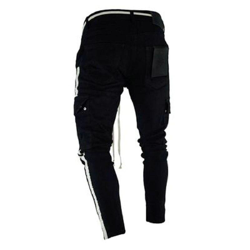 drop shipping Camouflage Streetwear Harem Men's Pants Casual Slim Fit Sweatpants Men Multi-pocket Camo Mens Joggers Pants LBZ24