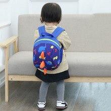 Cute Anti-lost Kids Bags Backpack Cartoon Animal Printing Children Kindergaden School Backpacks for Boys Girls Storage Toys