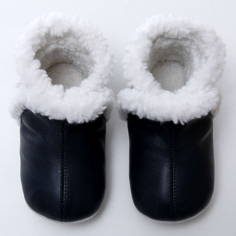 Leather Baby Boots Winter Snow Boots Baby For Girl Warm Baby Boot Boys Snow Boots Shoes For Kids 0-24m Soft Sole Infant Booties